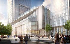 Hudson Yards, Retail to Public Square