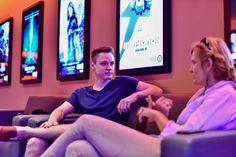 """""""A 4DX erőssége véleményem szerint a kiszámíthatatlanság"""" - mondja Andrea, akinek a kedvence egy animációs film volt amit 4DX teremben látott. (Cinema City 4DX - 2015) Fotó: Vajda Anita - Hír7"""