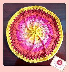 Ravelry: Sun wheel mandala pattern by Maz Kwok