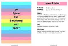 Spielekartei - 99 S piele für Bewegung und Sport      Im Weinviertel, wo ich her bin, organisiert meine Freundin Karin einge M ale i...