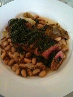 Steak from Heirloom Cafe