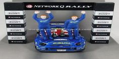 Network Q Rally of Great Britain 2001 Subaru Impreza Burns/Reid 1/43