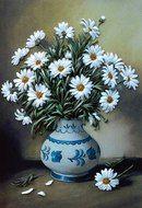 Natalya Mochalova's photos Blue Butterfly Wallpaper, Flower Background Wallpaper, Rose Wallpaper, Flower Backgrounds, Flower Vases, Flower Art, Oil Painting Flowers, Container Flowers, Arte Floral