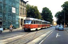 DDR. Tatra-Tram (Juni 1990)