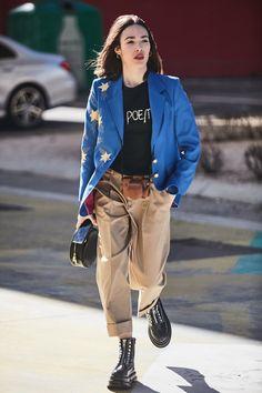 Fashion Trends – Designer Fashion Tips Best Street Style, Street Style Outfits, Street Style Trends, Mode Outfits, Street Style Women, Casual Outfits, Fashion Outfits, Womens Fashion, Fashion Trends