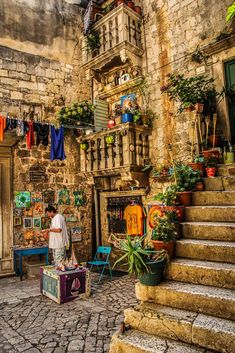 Culture travel: Trogir, Croatia by Zdravko Krsnik on Dubrovnik, Visit Croatia, Croatia Travel, Hvar Croatia, Zagreb Croatia, Places To Travel, Places To See, Travel Local, Wonderful Places