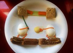 Egg Food | Eggs star in this creative food art