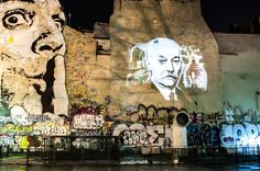 La place Stravinsky et son street-art à Paris <3 Chut !