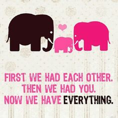 Items similar to Now We Have Everything Elephant Family Print (you choose your colors) on Etsy Elephant Family, Elephant Baby, Elephant Nursery, Elephant Shower, Elephant Theme, Elephant Design, Elephant Print, Family Print, Everything Baby