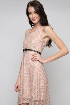 Rose Lace Dress