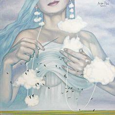 Лиза Рэй – Хозяйка неба Liza Ray - Mistress of the sky Х.м., 70Х70, 2014 oil on canvas Небо редко бывает таким высоким. В ясные дни у него вообще нет высоты — только синева. Нужны облака, чтобы оно стало высоким или низким. Вот так и человеческая душа — она не бывает высокой или низкой сама по себе, все зависит исключительно от намерений и мыслей, которые ее заполняют в настоящий момент… Память, личность — это все тоже как облака… (Виктор Пелевин)