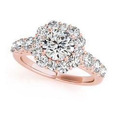 Humpday with this beautY  #humpday #thanksgiving #thankful #rosegold #rose #diamondring #jewelrygram #engaged #engagementring #blackwednesday #bride #instawedding #proposal #isaidyes #shesaidyes #holidays #family
