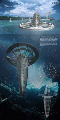 Waterscraper. Más sobre ciudades sostenibles en www.solerplanet.com