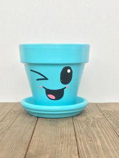 Flower Pot Art, Flower Pot Design, Flower Pot Crafts, Clay Pot Crafts, Clay Pot Projects, Terracotta Flower Pots, Clay Flower Pots, Painting Terracotta Pots, Painting Clay Pots