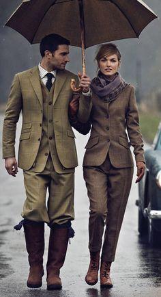 История, основные элементы английского стиля в одежде, фото