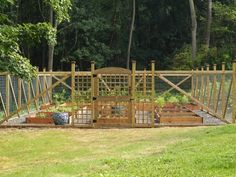 Vegetable Garden Fence By Penelope