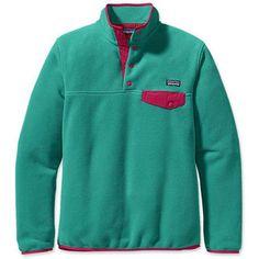 Patagonia Synch Lightweight Snap-T (Women's) - Fleece Jackets - Rock/Creek