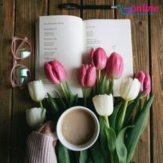 Nadire Atas on Cafe , Tea, Desserts and Lovely Flowers By: Anna Coffee And Books, I Love Coffee, Coffee Art, Flat Lay Photography, Coffee Photography, Flower Wallpaper, Iphone Wallpaper, Flatlay Instagram, Coffee Flower