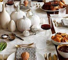 Modern Thanksgiving Table Ideas - Chic Little House