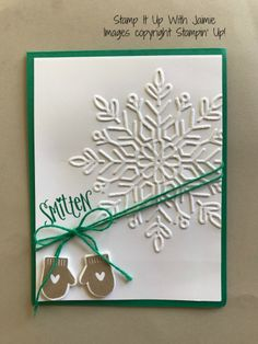 Stampin' Up! Smitten Mittens – Stamp It Up with Jaimie