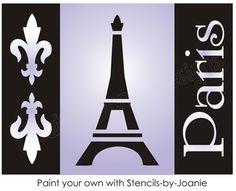 Paris stencil..want.