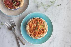 Heirloom Tomato Tarts | KitchenDaily.com