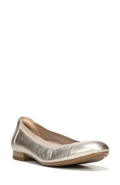 Naturalizer Naturalizer Therese Cap Toe Flat (Women) available at #Nordstrom