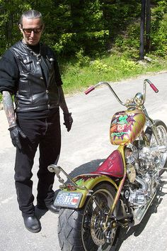 Legend, Indian Larry Got to meet him and  had my pic with approx 2 weeks before his death.