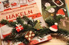 DIY : Geschenkanhänger zu Weihnachten selber machen - häkeln und basteln, mit Anleitung
