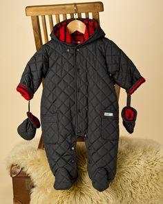 Quilt Baby Boy Snowsuit - Bestsellers - View by Product - Newborn Essentials