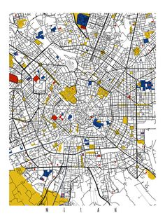 28 best Milan images on Pinterest | Milan map, Cards and Cities