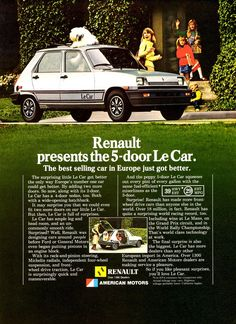 1981 Renault Le Car 5-Door | The 5-Door Le Car was added to the line while American Motors dealers were responsible for distribution in the U.S.