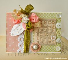 Card: Shabby chic card