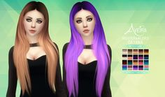 Nightcrawler's Dayana - Retexture • 70 Colors + 20 Ombres • Standalone & Custom Thumbnail • Texture by me • Color actions by Pooklet and me • Mesh by @darkosims3 not included, get it *HERE*...