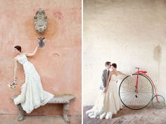 Portraits from a destination wedding in Tuscany, Italy. Love the colors!