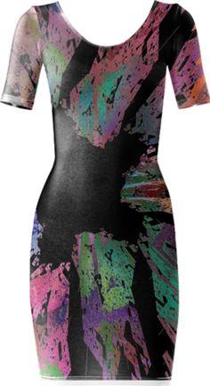 0000000P/Star Pieces Bodycon Dress