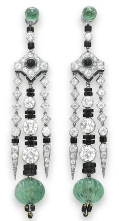 Cartier earrings ca. 1930