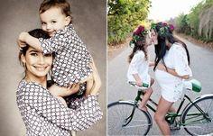 75 Looks de mãe e filha com roupas iguais para inspirar