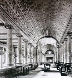 Erweiterungsbau der Reichsbank um 1900 in der Jaegerstrasse