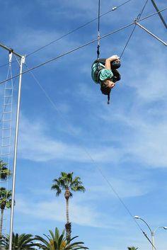SwingIt trapeze lesson in Anaheim, California, USA