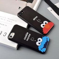 Soft TPU Back covers For iPhone 7 7 Plus Cute Cartoon cookie monster elmo Phone Case for iphone 6 6 plus Cover back Cases Smartphone Case, Iphone Phone Cases, Iphone 4, Apple Iphone, Elmo Wallpaper, Elmo And Cookie Monster, Cute Phone Cases, Cookies Et Biscuits, 6s Plus