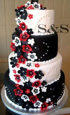 Bride to Bride: Original Cakes by Color Scheme   Recipes   Pinterest