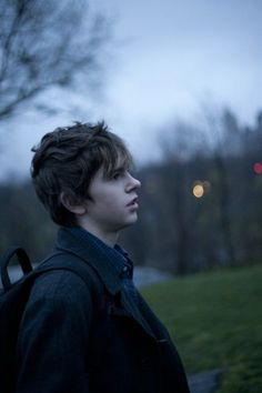 Freddie Highmore. the art of getting by <3