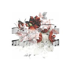 Tubes P@rtition Note De Musique ❤ liked on Polyvore featuring music, fillers, backgrounds, flowers, effects, embellishment, borders, detail and picture frame
