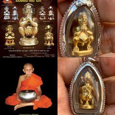 Lampang, Amulets, Compassion, Monkey, Celestial, Ears, Gold, Jumpsuit, Monkeys
