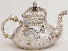 Amazing Gorham sterling teapot c1881 (SMP silver salon forums)