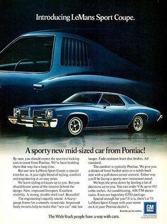 Old Pontiac Ad