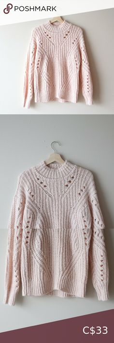 LOFT Blush Pink Sweater LOFT Blush Pink Sweater in size medium. Super cute and cozy sweater! I wanted to keep it, but i have too many sweaters already! 75% ACRYLIC 20% NYLON 5% ALPACA Measurements Sleeves: 31 in Width: 20 in Length: 24 in LOFT Sweaters Cowl & Turtlenecks Cozy Sweaters, Blue Sweaters, Sweaters For Women, Burgundy Sweater, Pink Sweater, Off Shoulder Sweater, Striped Turtleneck, Striped Midi Dress, Turtlenecks