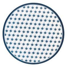 Plato de melamina Lolly Blue - GreenGate