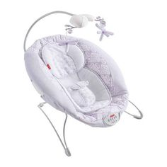 Fisher Price Fairytale Deluxe Bouncer - This is such a sweet little bouncer. Definitely a lifesaver too that soothes grumpy babies. Baby Bouncer Seat, Baby Bassinet, Baby Car Seats, Baby Swings And Bouncers, Baby Information, Baby Necessities, Baby Needs, Baby Safe, Baby Furniture